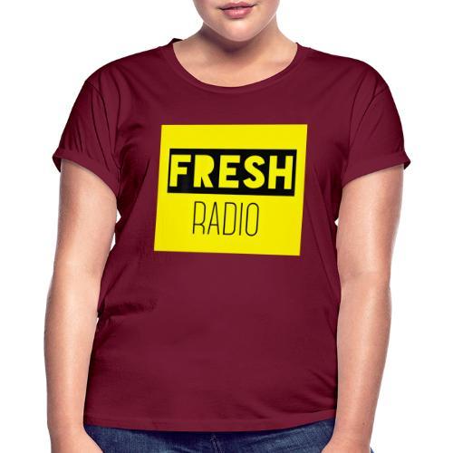 FreshRadio LOGO - Women's Oversize T-Shirt
