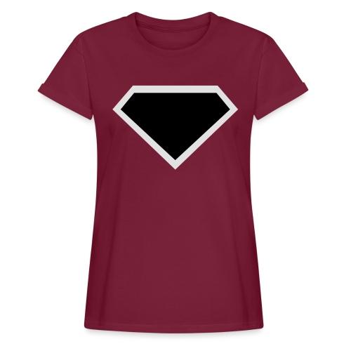 Diamond Black - Two colors customizable - Vrouwen oversize T-shirt