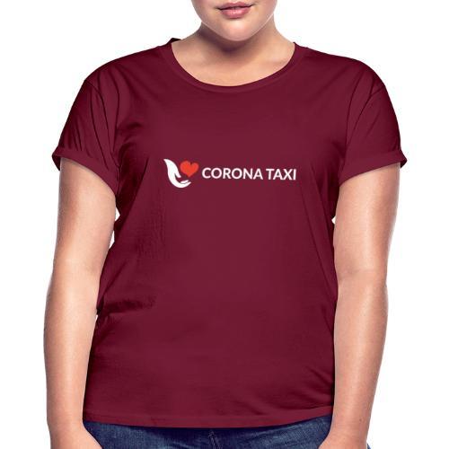 CORONA TAXI - Frauen Oversize T-Shirt