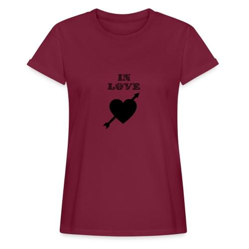 I'm In Love - Maglietta ampia da donna