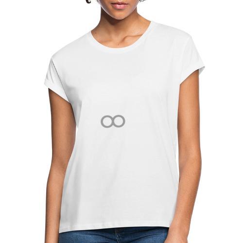 THE MANHATTAN DARKROOM BLANC GRIS - T-shirt oversize Femme