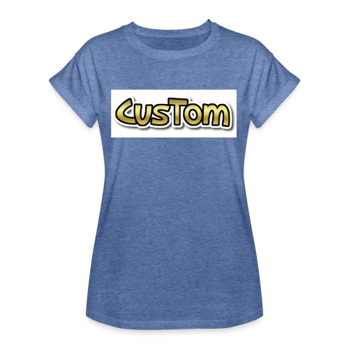 CusTom GOLD LIMETED EDITION - Vrouwen oversize T-shirt