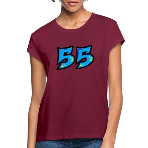 graf55blue - Naisten oversized-t-paita