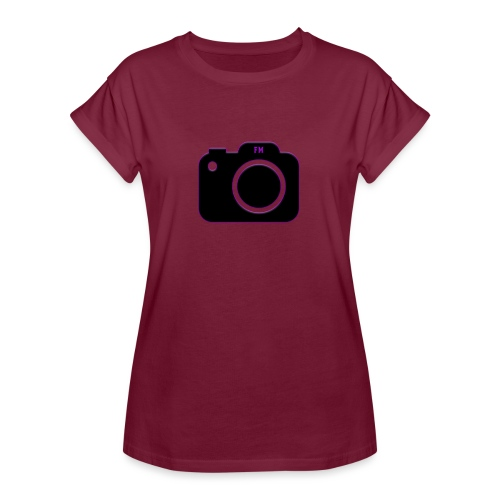 FM camera - Women's Oversize T-Shirt