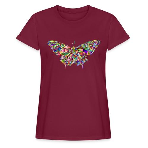 Geflogener Schmetterling - Frauen Oversize T-Shirt