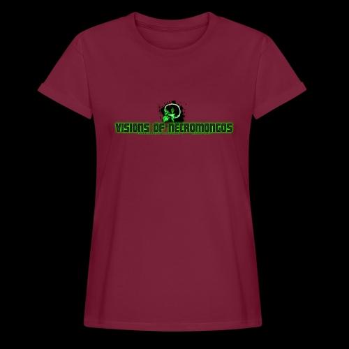 Necromongo Logo ONE - Frauen Oversize T-Shirt