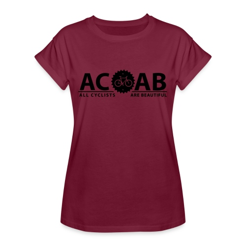 ACAB All Cyclists Are Beautiful T-Shirts - Frauen Oversize T-Shirt