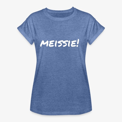 meissie - Vrouwen oversize T-shirt