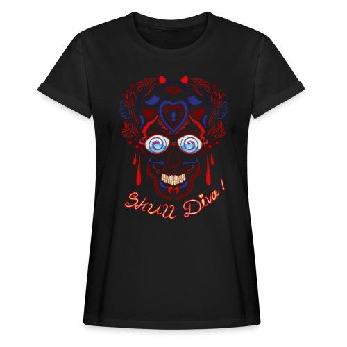 Skull Tattoo Art - Women's Oversize T-Shirt