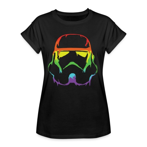 Pride Trooper - simple - Naisten oversized-t-paita