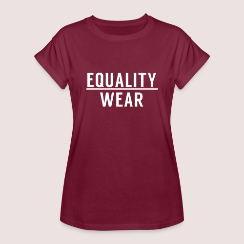 Equality Wear Official Pattern - Women's Oversize T-Shirt