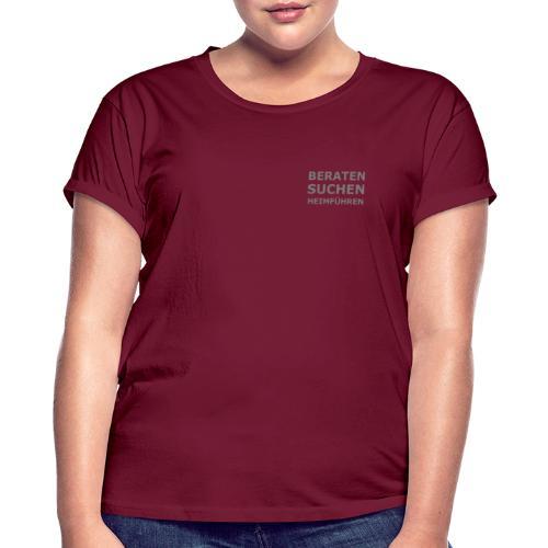 K-9 Tiersuche Nord e.V. - Frauen Oversize T-Shirt