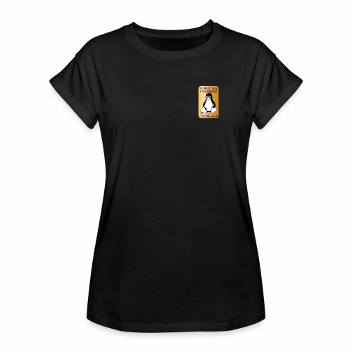 GNU/Linux Powered by FermoLUG - Maglietta ampia da donna