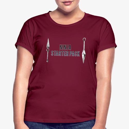 Ninja - T-shirt oversize Femme