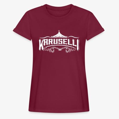 Karuselli - Naisten oversized-t-paita