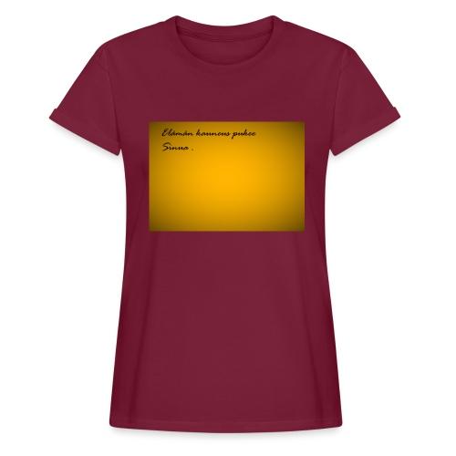 Kirje... - Naisten oversized-t-paita