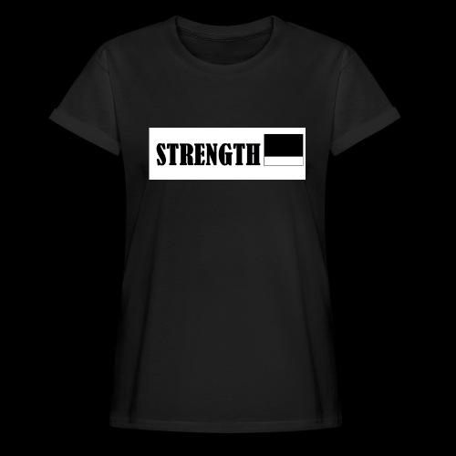 STRENGTH - Naisten oversized-t-paita