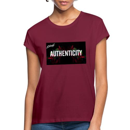 Authenticity - T-shirt oversize Femme