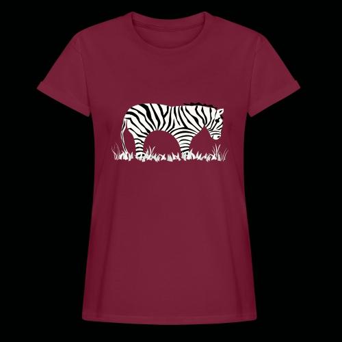 Zebra - Frauen Oversize T-Shirt
