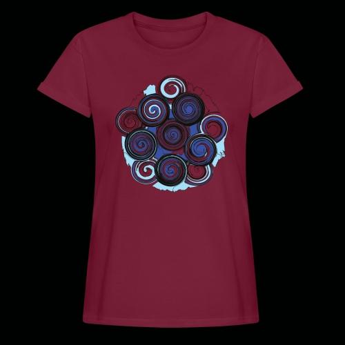 SPIRALE - Frauen Oversize T-Shirt