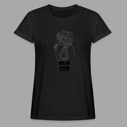 BLK FTR N°6 - Maglietta ampia da donna