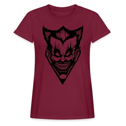 Horror Face - Frauen Oversize T-Shirt
