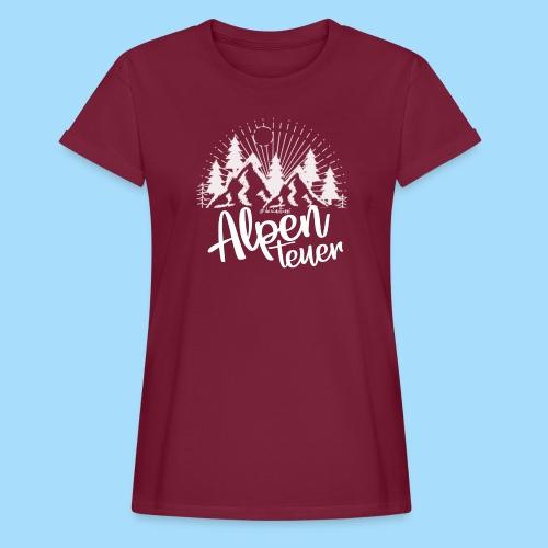 Alpenteuer - Frauen Oversize T-Shirt