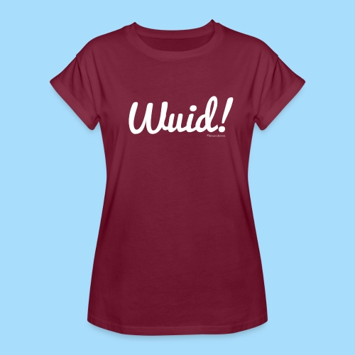 Wuid - Frauen Oversize T-Shirt