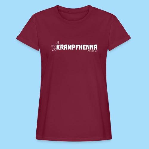 Krampfhenna - Frauen Oversize T-Shirt