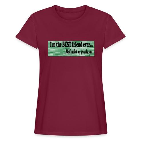 MOOD PHRASES - Camiseta holgada de mujer