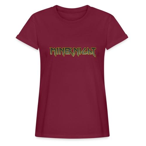 MineKnight T-shirt - Oversize-T-shirt dam