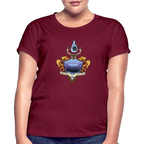 EMBLEMA EL BORRAO - Camiseta holgada de mujer