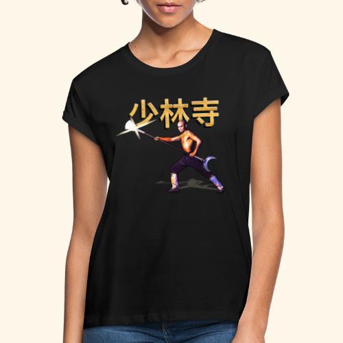 Gordon Liu as San Te - Warrior Monk - Vrouwen oversize T-shirt