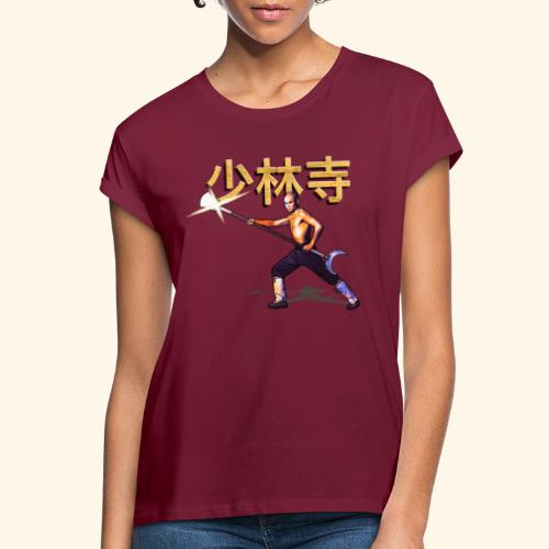 Gordon Liu som San Te - Warrior Monk - Dame oversize T-shirt