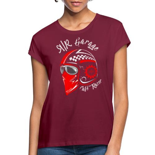 RR Garage Custom Motorcycles - Maglietta ampia da donna