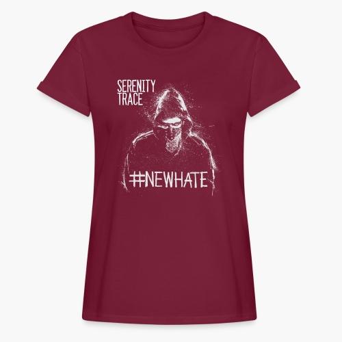 #NewHate Male - Oversize T-skjorte for kvinner