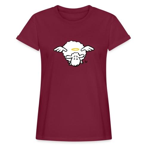 Angel Sheep - Oversize T-skjorte for kvinner