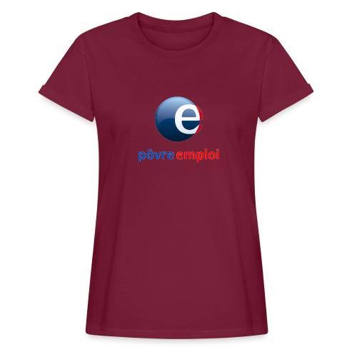 Povre emploi - T-shirt oversize Femme