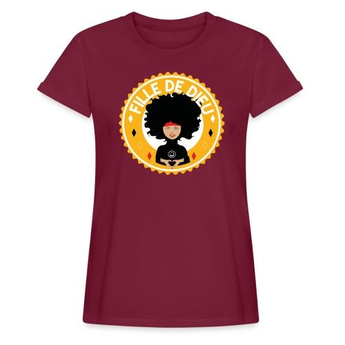 fillededieujaune - T-shirt oversize Femme