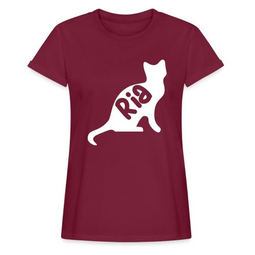 Team Ria Cat - Women's Oversize T-Shirt