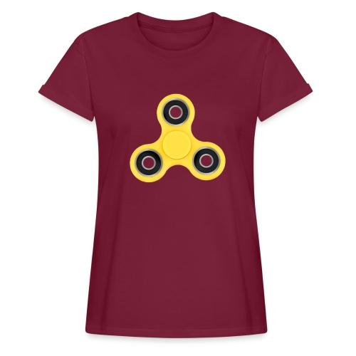 Hand Spinner - T-shirt oversize Femme