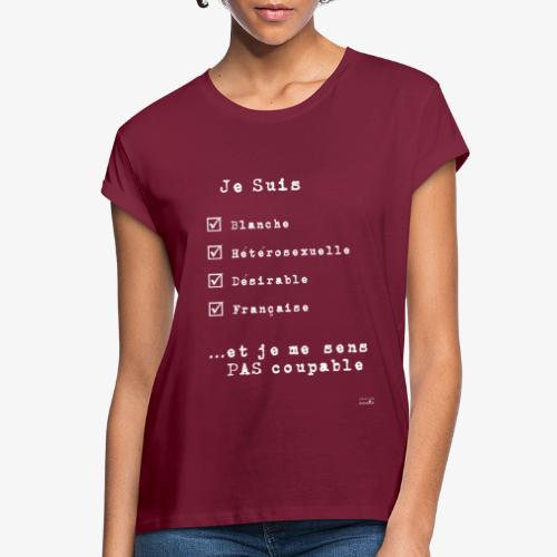 IDENTITAS Femme - T-shirt oversize Femme
