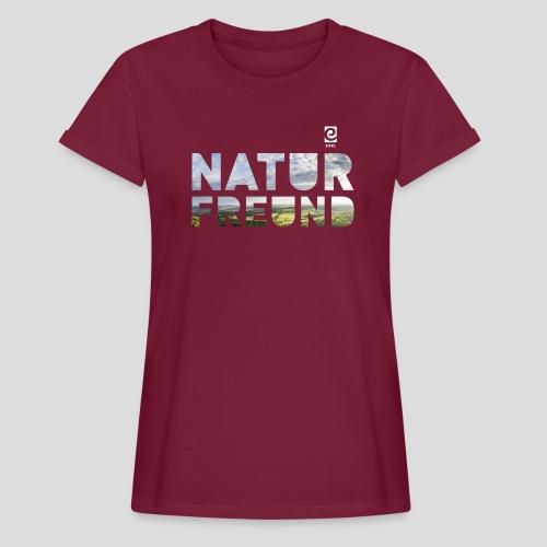 Naturfreund - weiß - Frauen Oversize T-Shirt