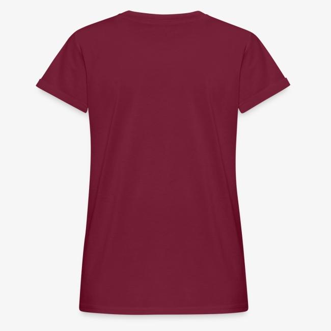 Vorschau: rad ab_einhorn - Frauen Oversize T-Shirt
