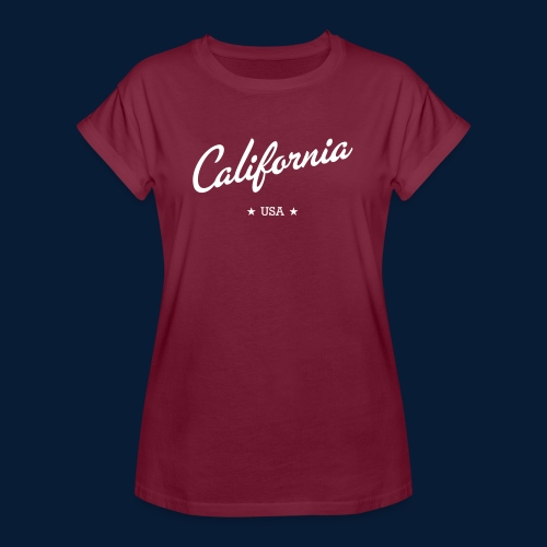 California - Frauen Oversize T-Shirt