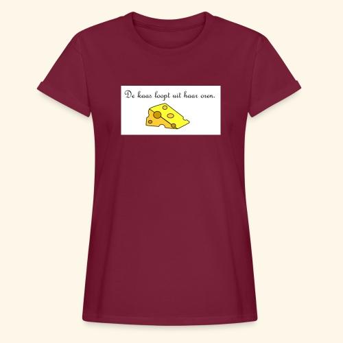 Kaas loopt uit haar oren - Temptation - Vrouwen oversize T-shirt