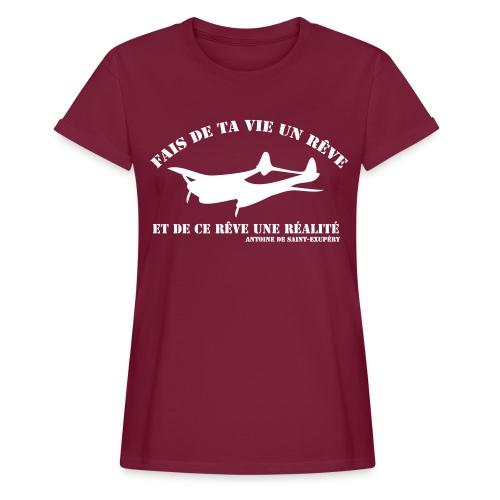 ta vie un rêve - T-shirt oversize Femme