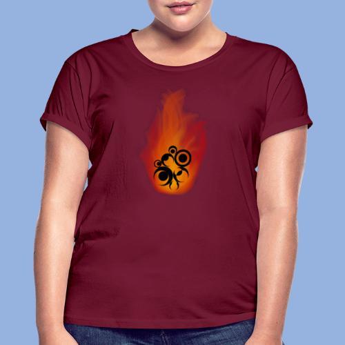 Should I stay or should I go Fire - T-shirt oversize Femme