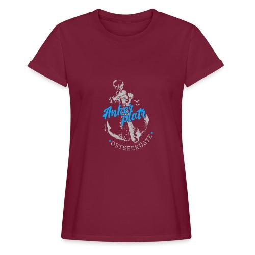 Ankerplatz - Frauen Oversize T-Shirt