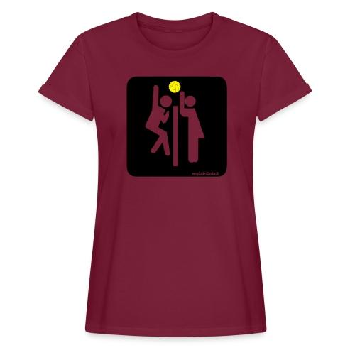 Toilet Volley - Maglietta ampia da donna
